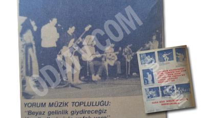 Grup Yorum ilk büyük konserine nerede çıktı