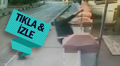 Kilise saldırısının görüntüleri çıktı