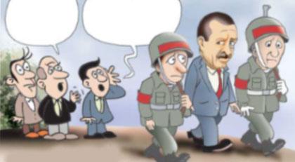 AKP yönetiminin gündeminde olan karikatür