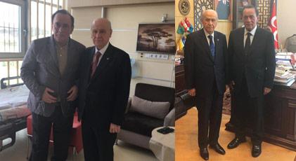 Çakıcı ile Bahçeli MHP Genel Merkezi'nde görüştü