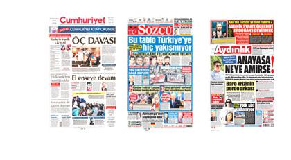 Gazetecilerin davasını gazeteler nasıl gördü