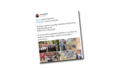 Bu tweeti yazacak tek AKP'li yok maalesef