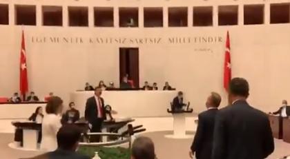 AKP'li vekil Meclis çalışanına hakaret mi etti