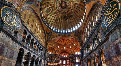 Hıristiyanlık freskleri nasıl karartılacak diye tartışılırken İslami sembol böyle sansürlendi