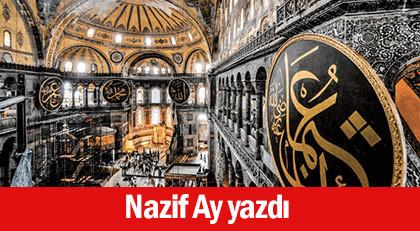 Ayasofya'daki dev levhalarda yazan Hasan ile Hüseyin isimlerinin sırrı ne