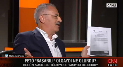 CNN Türk'te Hande Fırat'ı şaşırtan sözler