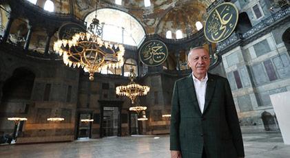Erdoğan'ın Ayasofya planının altında ne var