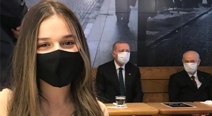 """""""Erdoğan ve Bahçeli ile soğuk latte keyfi"""""""