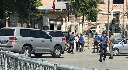 ABD Büyükelçisi Ayasofya'da