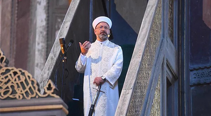 Ali Erbaş'tan Ayasofya kararı