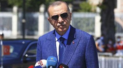 Erdoğan Ayasofya'da