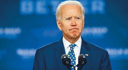 """Biden """"kral çıplak"""" dedi"""