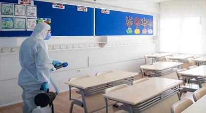 İşte virüs tespit edilen okulların listesi