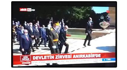 30 Ağustos'ta Atatürk'ü böyle hedef aldılar: Anırkabir