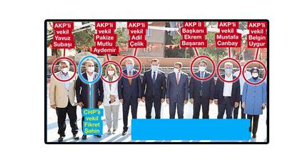 30 Ağustos'a korona gerekçesiyle katılmayan AKP'liler bakın nasıl yakalandı