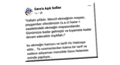 """AKP'de ders veren hoca Menzilcilerin mesajını görünce """"pes"""" dedi"""
