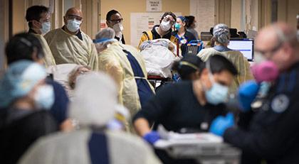Koronavirüsten ölüm riski iki katına çıkıyor