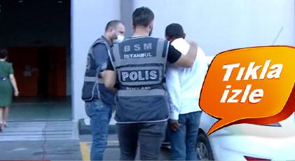 Canlı yayında gözaltına alındı