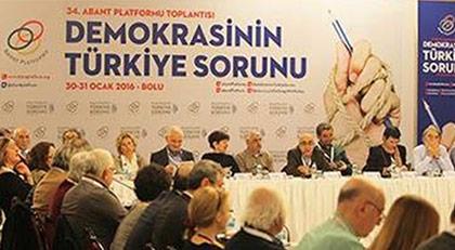 """48 kişiden """"Abant Toplantılarında yoktuk"""" açıklaması"""