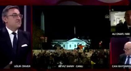 """CNN Türk'te spikerin dilinin ucuna gelip söyleyemediği """"şey"""" ne"""