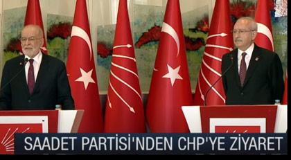 Karamollaoğlu ile Kılıçdaroğlu'ndan ortak açıklama: Bir devlet krizi ile karşı karşıyayız