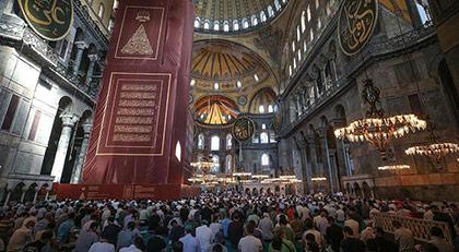 Ortodokslar Ayasofya için dava açtı