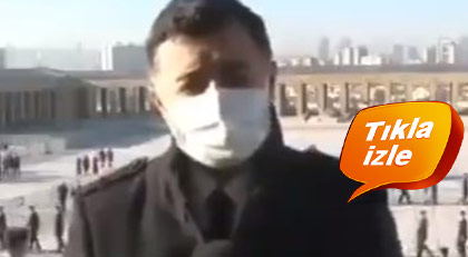 NTV'yi canlı yayında Anıtkabir'den kovdular