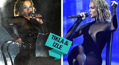 Jennifer Lopez, Beyonce'yi taklitle suçlandı