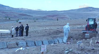 Korona mezarlığında neler yaşanıyor
