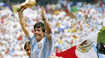 Maradona'nın bileti nasıl kesilmişti