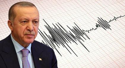 Deprem kararını da Erdoğan verdi