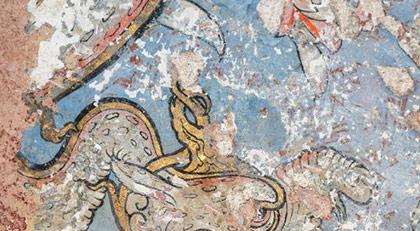Topkapı Sarayı'nda 500 yıllık bezeme bulundu