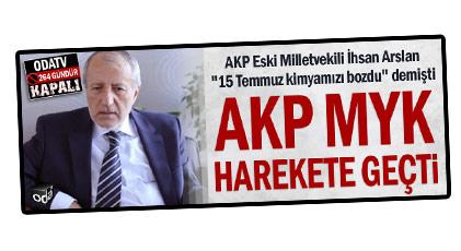 AKP'li Arslan'a verilen ceza belli oldu