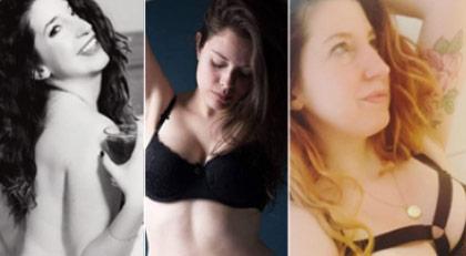 Seksi fotoğrafına ceza gelince kadınlar arka arkaya soyundu