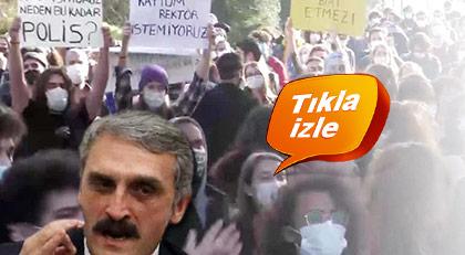"""AKP'nin """"Yeliz""""i bu kez Bozğaziçi Üniversitesini hedef aldı"""