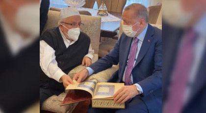 Erdoğan'ın sır buluşması