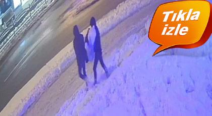 Kardan kadını kaçırdılar