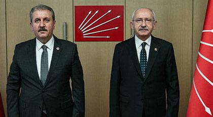Kılıçdaroğlu'nu ziyaret eden Destici ne teklif etti