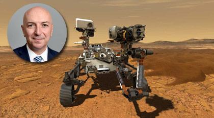Mars'a giden araçtan Boğaziçili çıktı