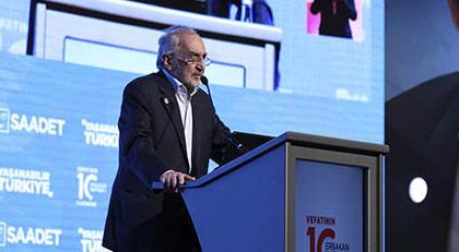 Asiltürk'ün Erbakan mesajındadikkat çeken sözler