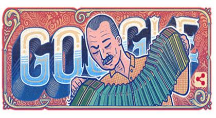 Google'dan Astor Piazzolla'ya doğum günü sürprizi