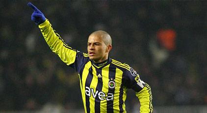 Alex Fenerbahçe için 'antrenmanlara' başladı