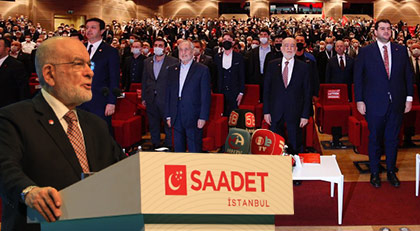 Saadet'ten AKP'ye yanlış ruh tepkisi: 94 yerine 90 ruhunu buldular