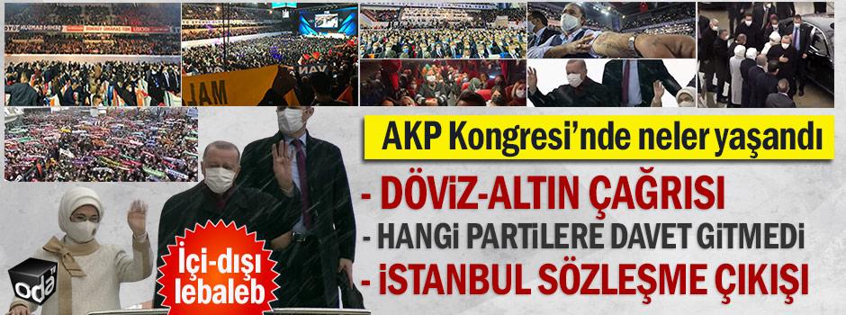 AKP kongresinde neler oluyor