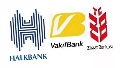 Ziraat Bankası, Halkbank ve Vakıfbank'ta deprem