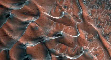Mars'tan gelen inanılmaz görüntü şaşırttı