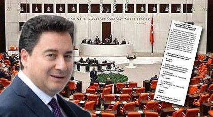 "Meclis'te ""Babacan'a kıyak"" tartışması"