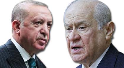 """Bahçeli """"rövanşı görülmedi"""" derken Erdoğan öyle bir mesaj yolladı ki"""