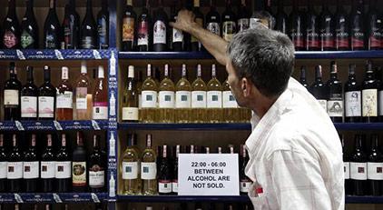 Hükümetle esnaf arasında alkol kavgası