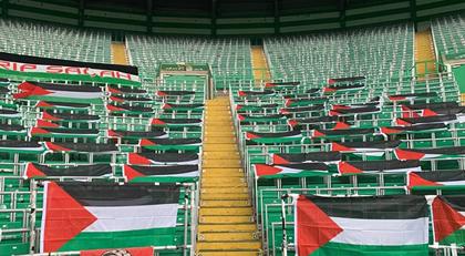 Stadyumda Filistin tartışması